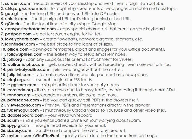 Most Useful Websites !!!!!!!! - Imgur