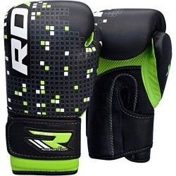 RDX Leather-X Kids 4oz & 6oz Boxing Gloves