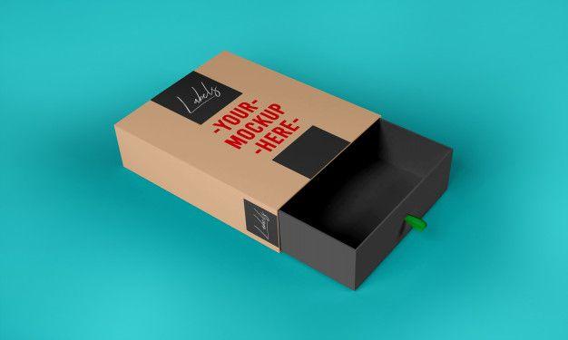 Download Paper Box Mockup Template In 2020 Box Mockup Mockup Template Paper Box