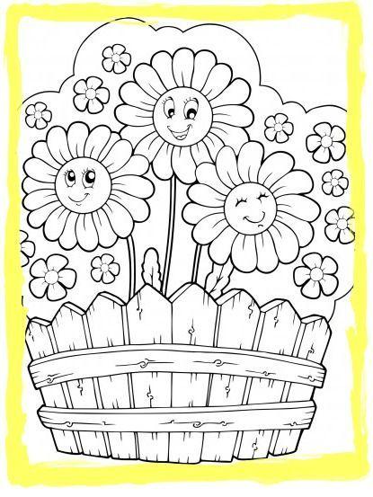 Ceramic Coloring For Children
