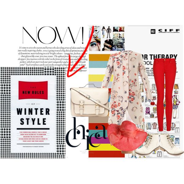 """""""Winter in New York"""" by nabillasyarah on Polyvore what we'll wear? #winter"""