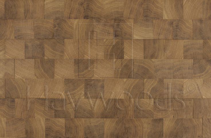 HW1490 Gold Leaf End Grain Oiled Solid Block Wood Flooring
