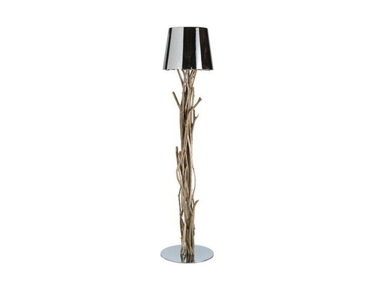 Wooden Floor Lamp Koleo Collection By Bleu Nature