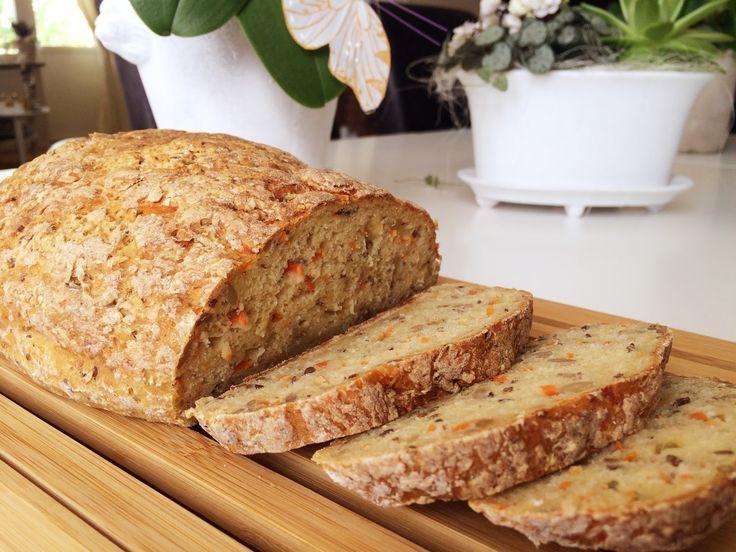 Glutenfria godsaker: Glutenfritt morotsbröd
