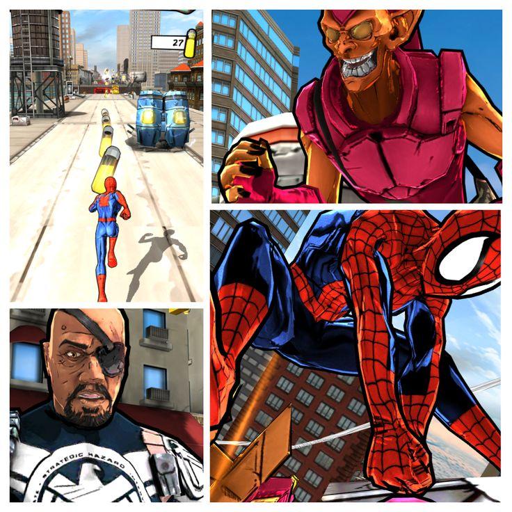Spider-Man Ultimate: juego mediocre, buen endless-run gratuito. Buenos gráficos y niveles episódicos además de un modo infinito. Está bien para partidas rápidas.