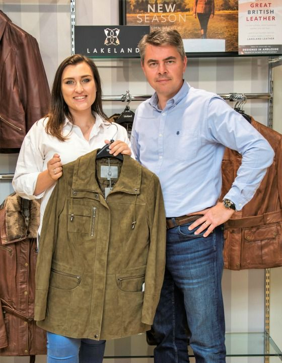 Leather jacket designed by DMU grad hits the shop rails