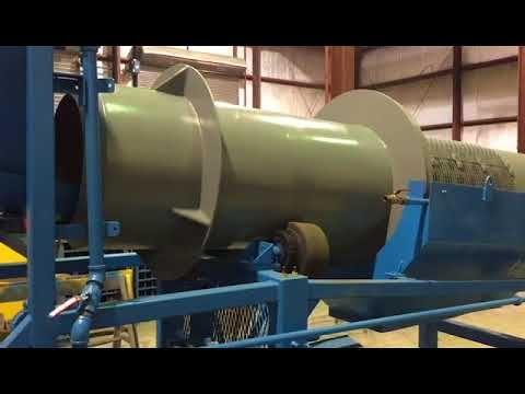 Trommel Con Tolva Alimentadora de 30 pulg. x 12 pies