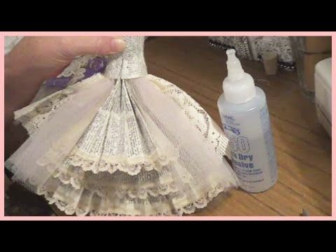 Art Dress Tutorial - Part 2 - The Skirt - YouTube