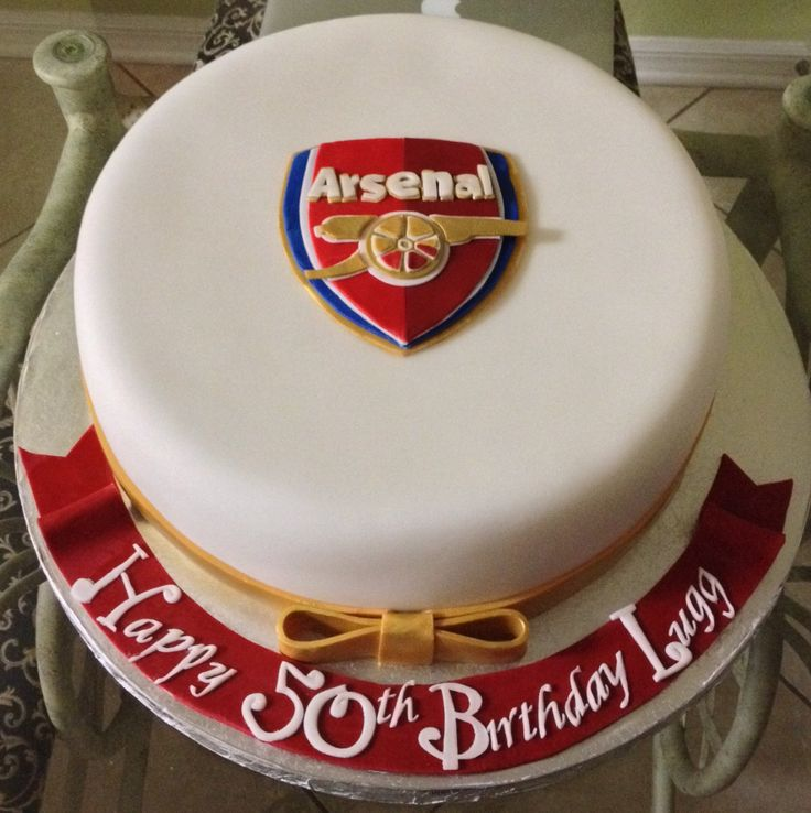 ... Arsenal Cakes on Pinterest  Baby gifts, Arsenal fc and Birthday cakes