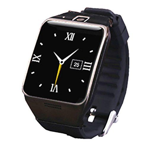 Boddenly LG128 Bluetooth Smart Watch Wrist Watch with 13mp Camera GPS NFC MP3 for Andriod Sumsung and IOS Apple iphone 55S66 Plus Black *** For more information, visit image link.