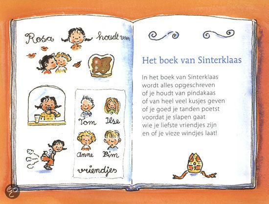 Het boek van Sinterklaas - Uit Pepernotenpoëzie