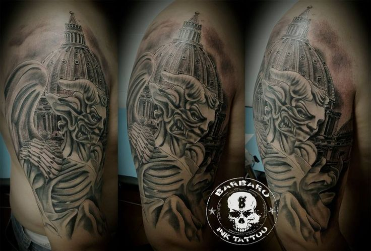 #tattoo #tattooed #tattooist #bestspaintattooartist #sculpturetattoo #blackandgreytattoo #religioustattoo #angelsanddemonstattoo