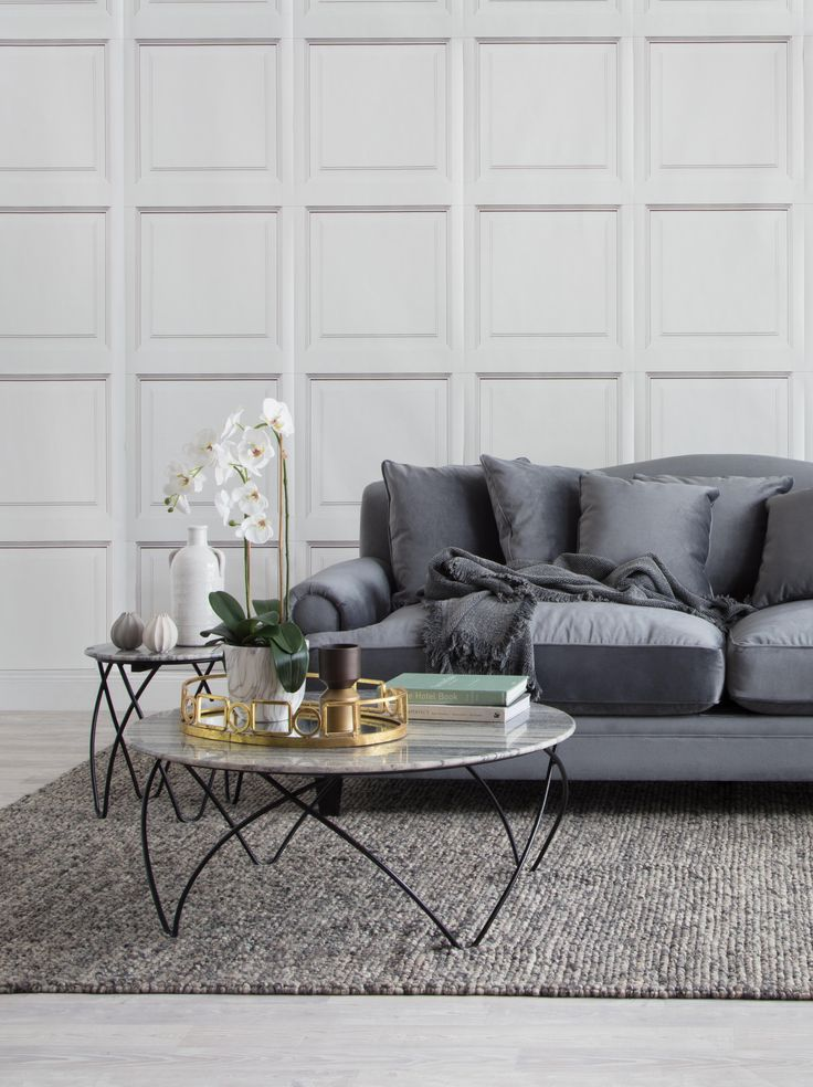 Coco sofa with Hermon coffee and side