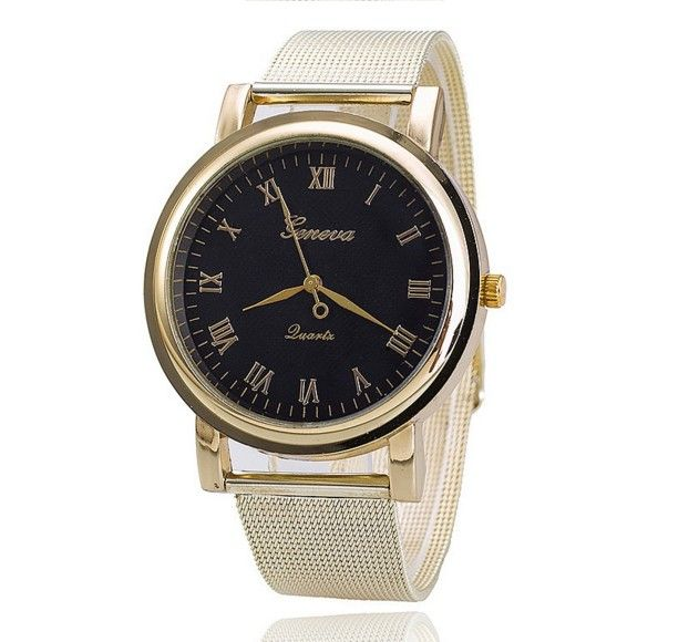 Zegarek Złoty Nowość Damsko męski PLAYER MAN