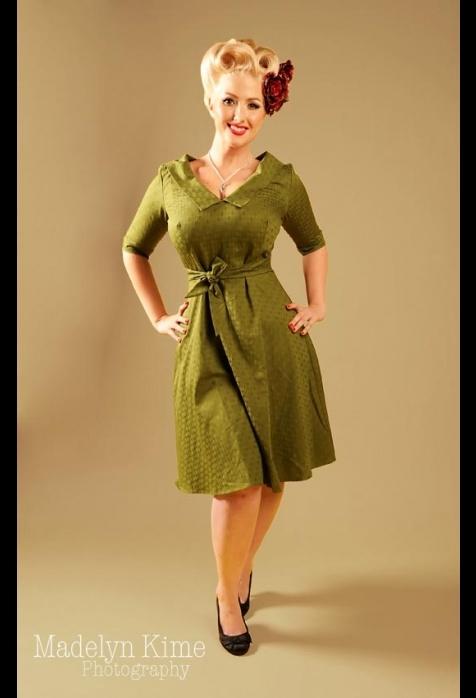 Green Francine dress: Pinup Retro Vintage, 40S Style, Moss Green, Clothing Style, Pinup Style, Francin Dresses, Dresses Pinupgirlcloth, Pinup Girls Clothing, Pinup Rockabilly