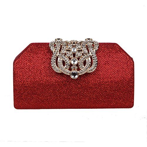 Sparkly red clutch ❤️ Shop the Bling collection here http://amzn.to/2lj9uVW ❤️