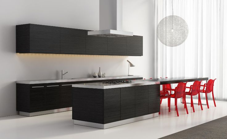 Cocina laimnada imitación madera | TG Kitchenambient