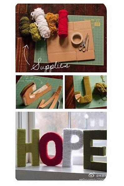 Letters, home decor, diy