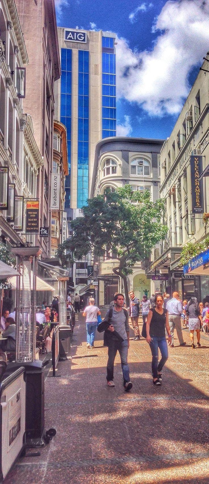 New Zealand - Auckland - Vulcan Lane