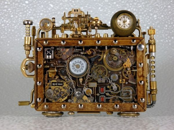 Portable Time Machine! Of course I'll be needing this nifty gadget! Hope it will fit into my purse...