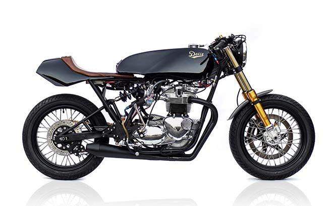 Meet the Triumph TTT, the latest magnificent ride from the Deus Ex Machina  #DeusCustoms⠀⠀#DeusExMachina #motorcycles