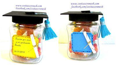 Recuerdos y regalos para graduación- Manualidades ~ cositasconmesh
