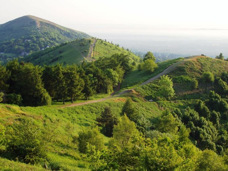 The beautiful Malvern Hills