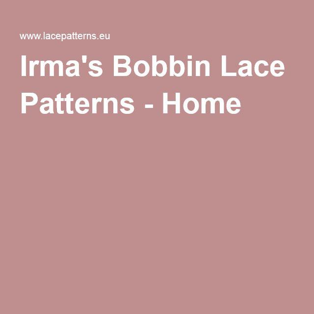 Irma's Bobbin Lace Patterns - Slovenia