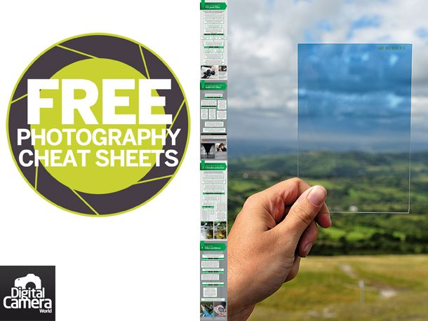 Camera filters can be a bit of an enigma for many photographers, both new and experienced. In our new cheat sheet we've produced a handy cheat sheet that takes you four of the most common problem areas for photographers when it comes to using camera filters. Our flow chart shows you how to choose the best ND grad filter