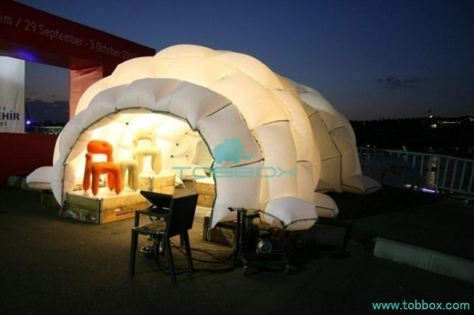 lounge tent inflatable