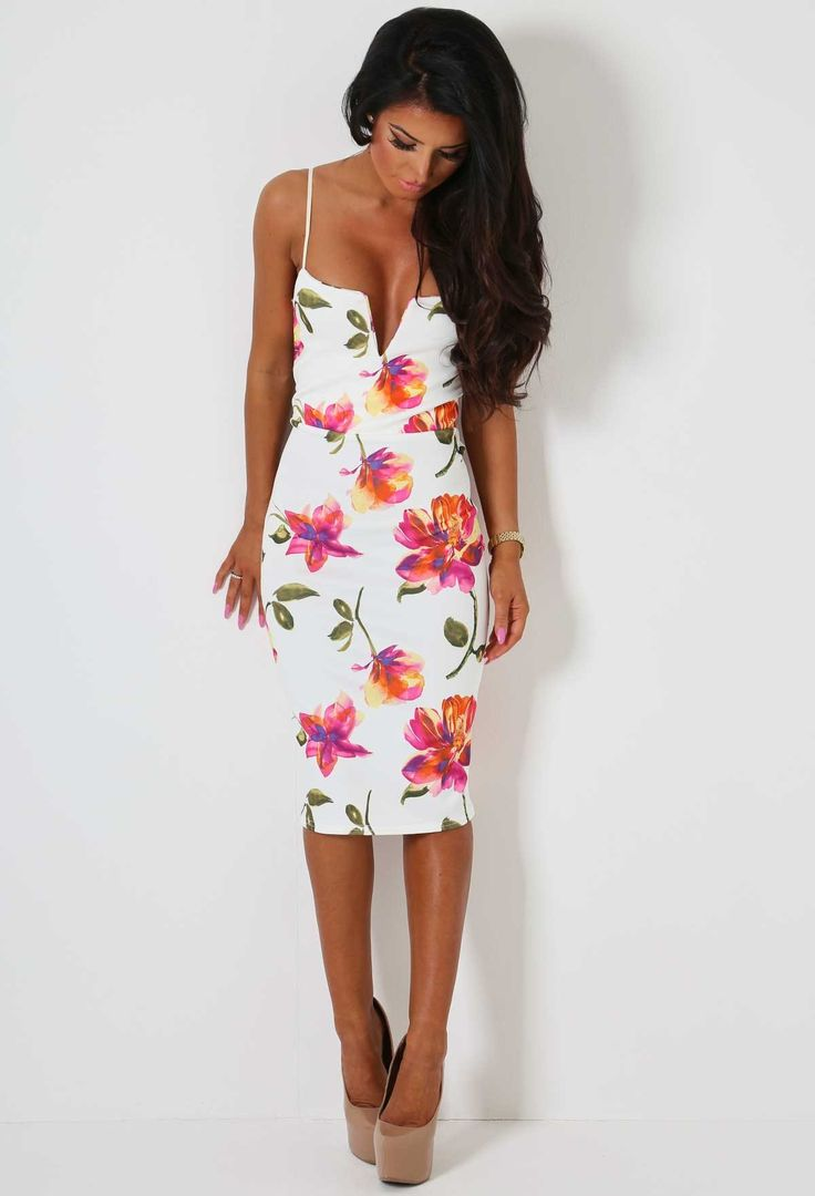 17 Best ideas about Floral Bodycon Dresses on Pinterest   Small b