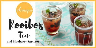 Annique Rooibos Tea and Blueberry Spritzer