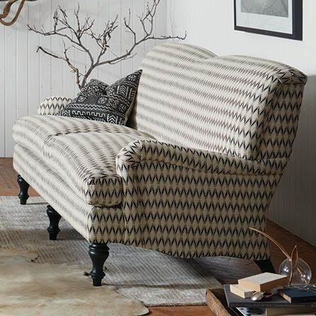 An Eclectic, Contemporary Twist On A Classic Design, Our Upholstery  Artisans Have Expertly Fitted