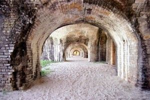 fort pickens, pensacola florida, had great time walking through the fort.