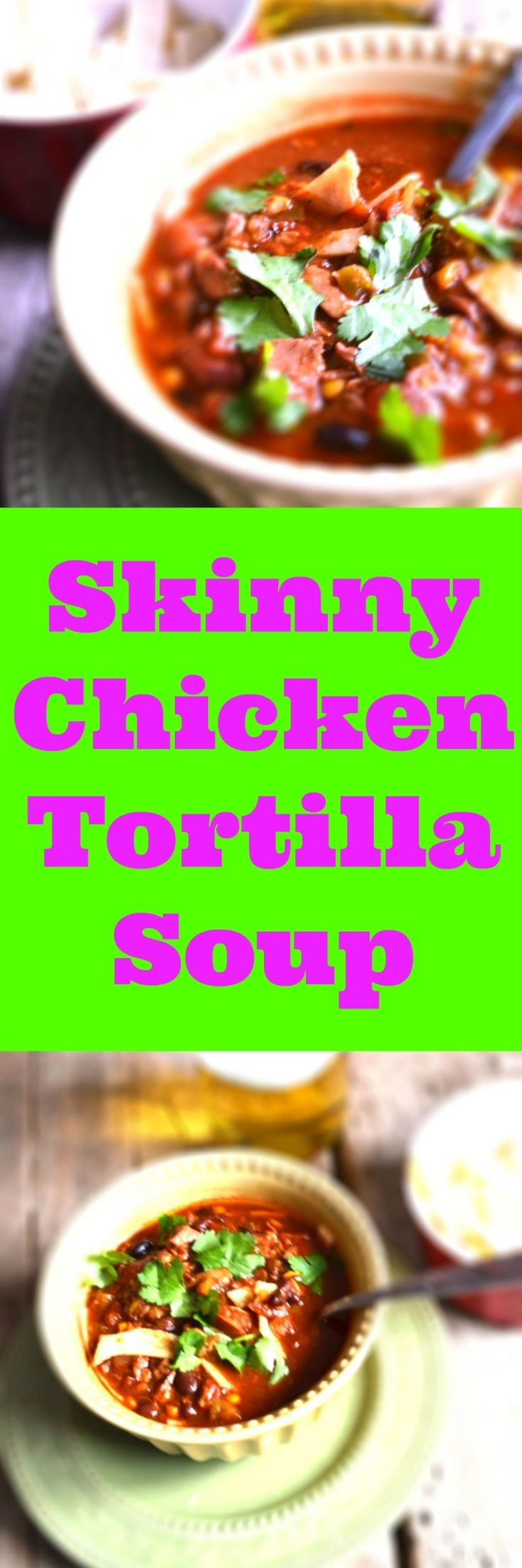 You'll want to try this Chicken Tortilla Soup Recipe when a cold or flu hits you. You absolutely should try this natural health remedy to cure your cough and cold. The reason why is because of the natural chicken broth.