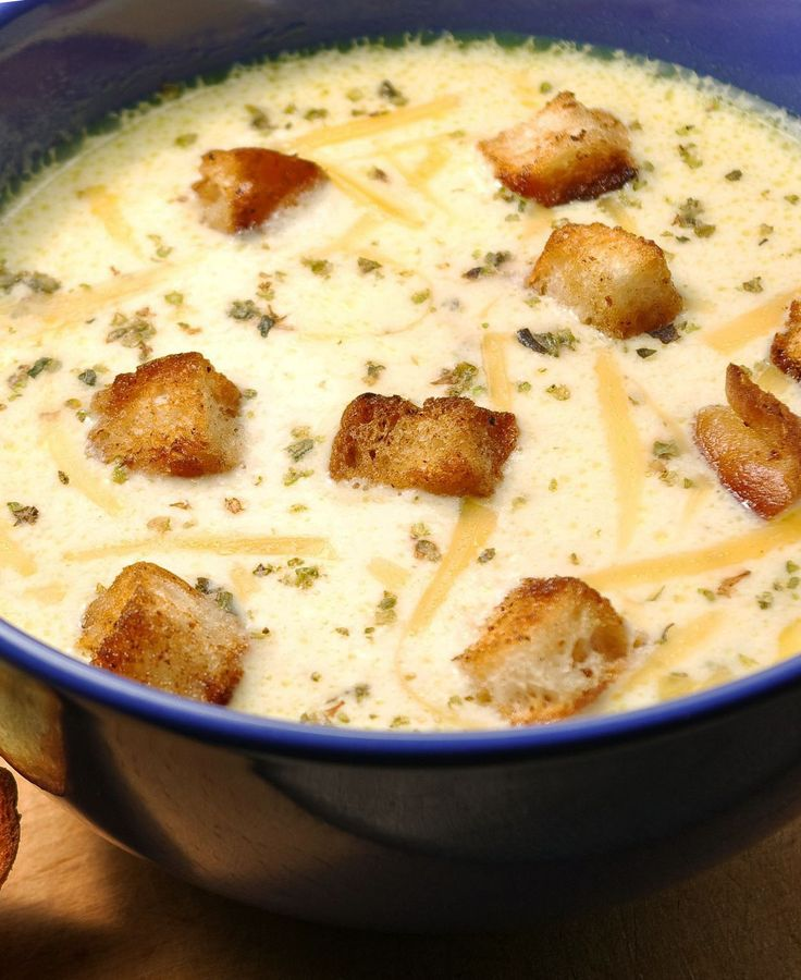hashbrown cheese  soup (sub soup w/ Mushroon & NO BACON )