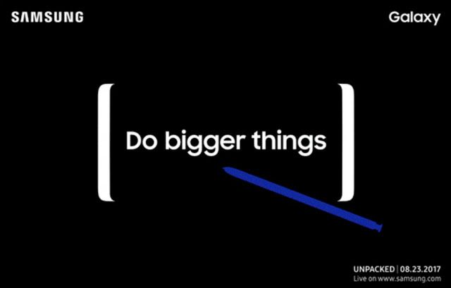 Samsung has officially announced its next Unpacked event on 23 August 2017 to be held in New York City. Galaxy Note 8 Launch Set for August 23 Unpacked Event