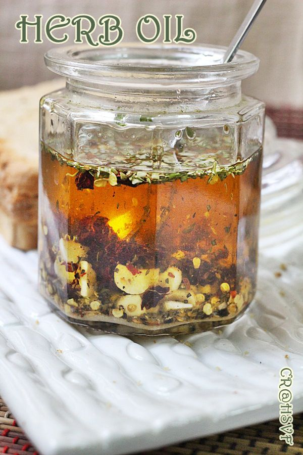 HERB OIL FOR BREADS |DIP FOR BREADS - Home Style Veg Food