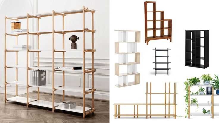7 of the best free-standing shelves.