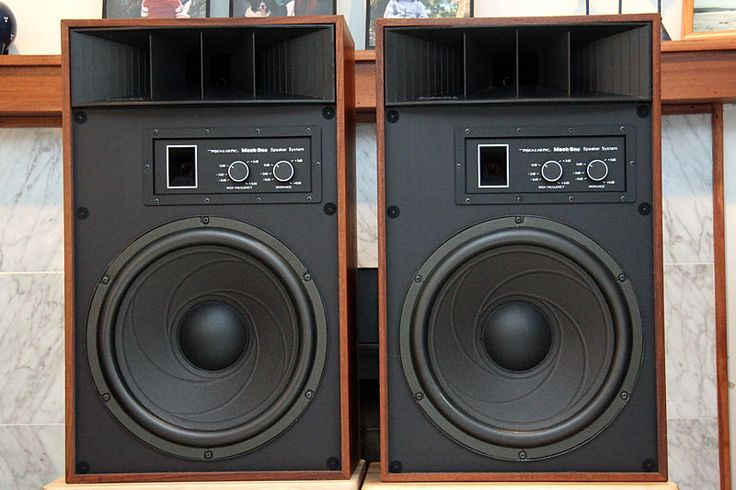 Realistic Mach One Speakers I Know They Re From Radio