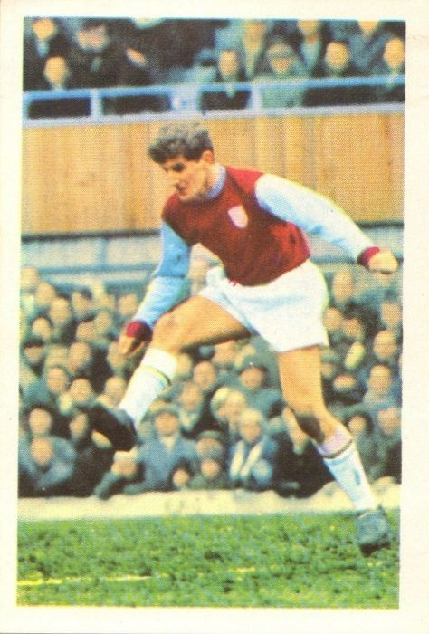 025 - Les Latcham (Burnley) - Has turned in fine performances at inside forward, on both wings, at wing-half, centre forward and of late full-back. Once with Crook Town he has nine years professional service and made his début in January 1965. Ht. 5ft. 8.75in. Wt. 10.8.