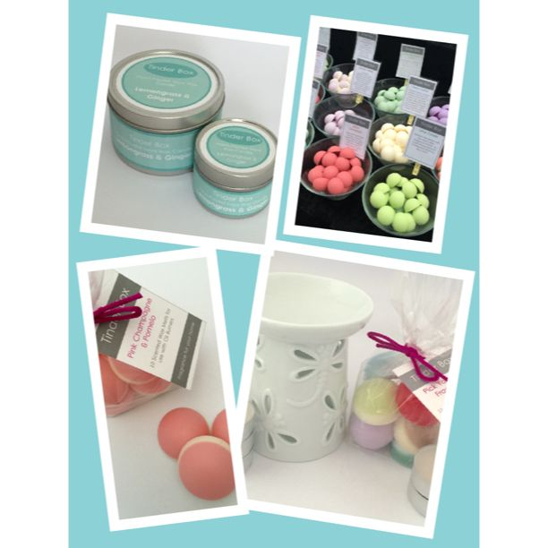 Hand-poured Scented Soya Wax Candles & Wax Melts from Tinder Box Candles