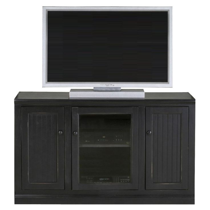 Eagle Furniture Coastal 55 in. Plain Glass Tall Entertainment Center - 72855PL