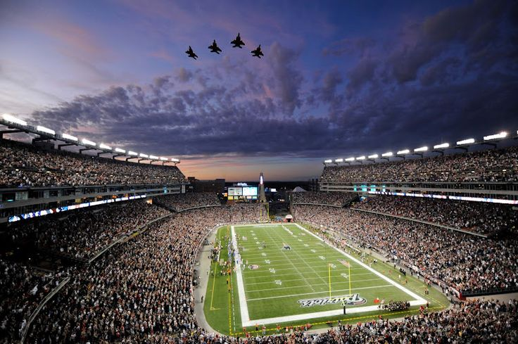See the Pats play at Gillette