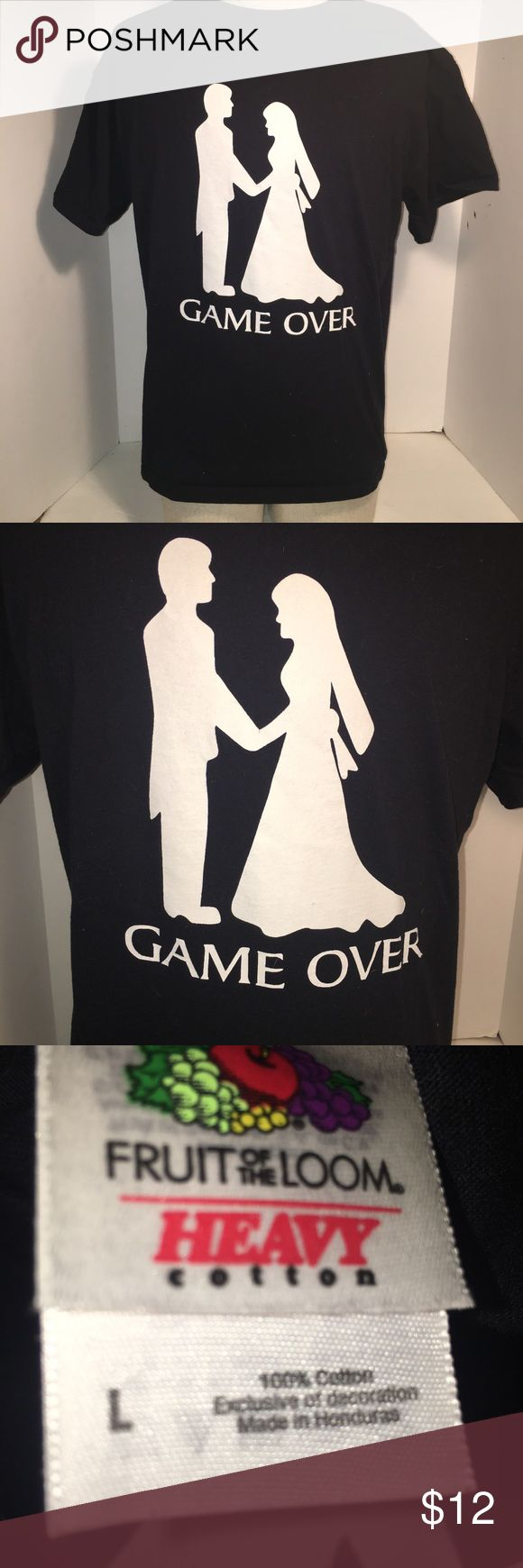 Men's Game Over T-Shirt game over!!! Lol in excellent condition! Shirts Tees - Short Sleeve