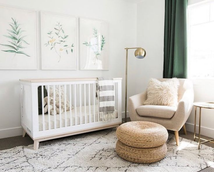 21 Refreshingly Green Nurseries Nursery Baby Room Modern Gender Neutral Nursery Nursery Neutral