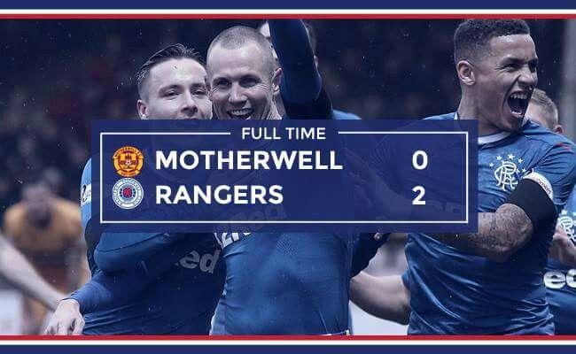 Motherwell 0 Rangers 2