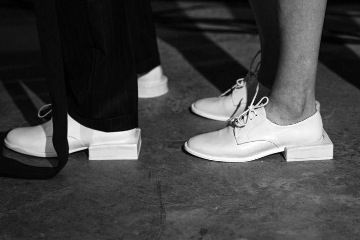 "skt4ng: "" Backstage at Jacquemus SS16 | Photography by Virginie Khateeb """