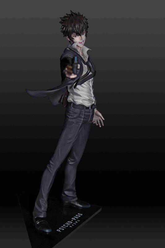 あみあみ [キャラクター&ホビー通販] | mensHdge technical statue No.1 PSYCHO-PASS サイコパス 狡噛慎也 完成品フィギュア(ポストカード 付)
