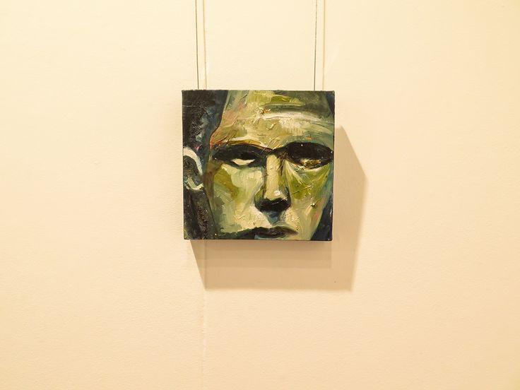 Self Portrait ( oil on canvas)